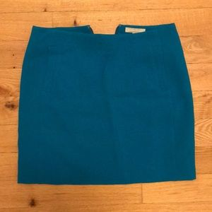 Banana Republic blue front pocket skirt